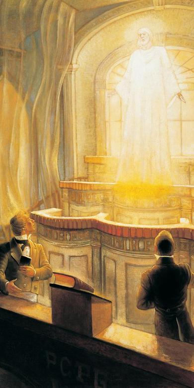 Christ Appearing in the Kirtland Temple