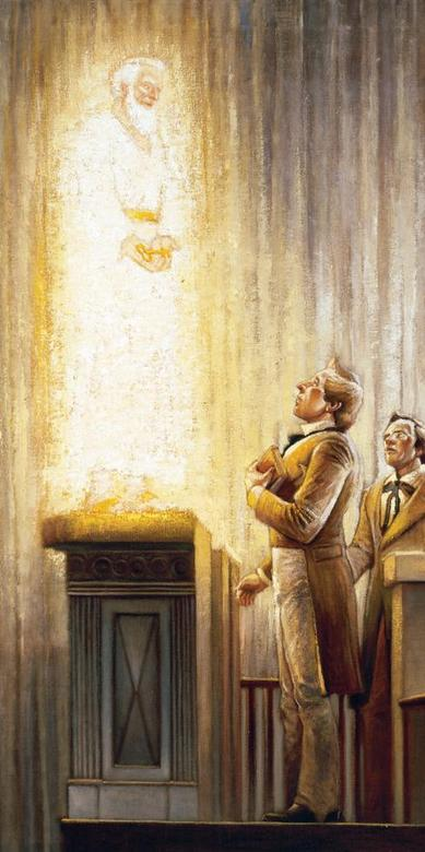 Joseph Smith Sees Elijah in Kirtland Temple