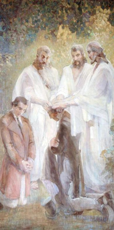 Restoration of the Melchizedek Priesthood