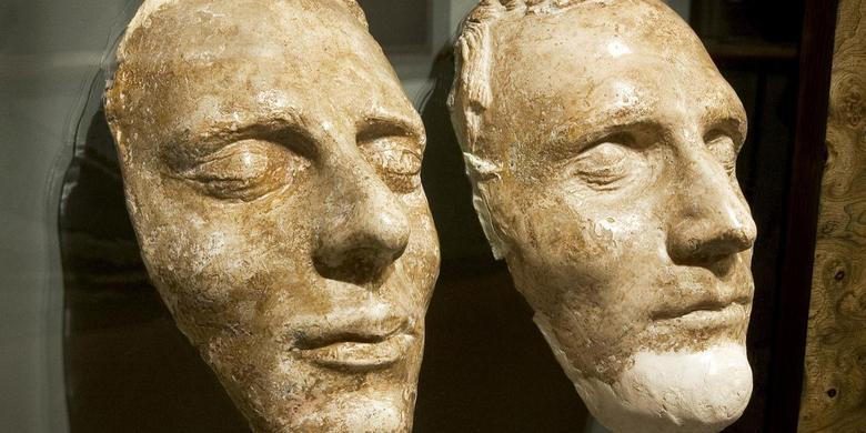 Joseph and Hyrum Smith's Death Masks