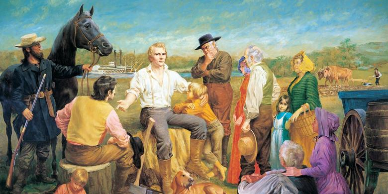 Joseph Smith in Nauvoo, 1840