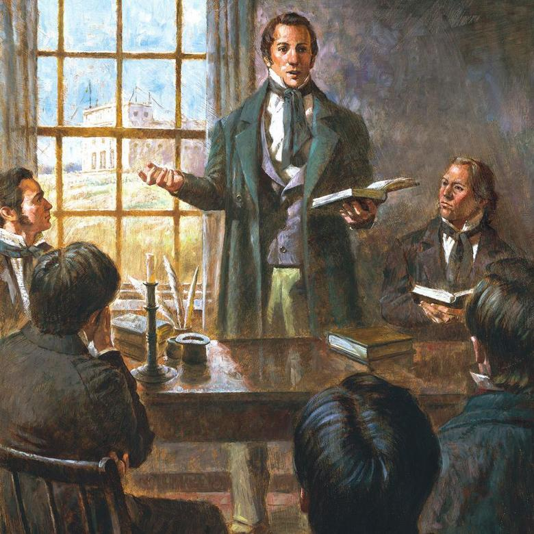 Joseph Smith's Last Meeting with the Apostles