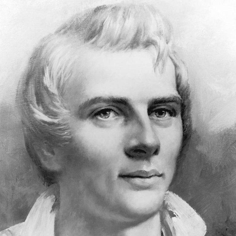 Joseph Smith in Nauvoo, 1840 (detail)