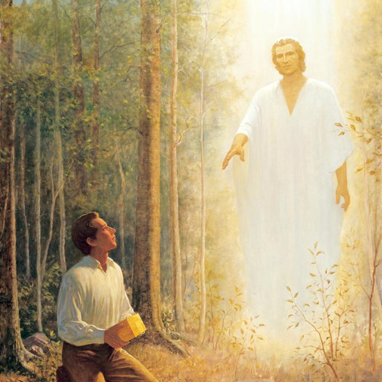 Moroni Delivering the Plates to Joseph Smith