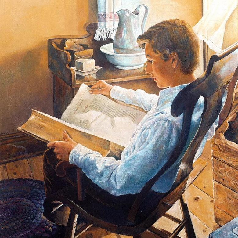 Joseph Smith Seeks Wisdom in the Bible