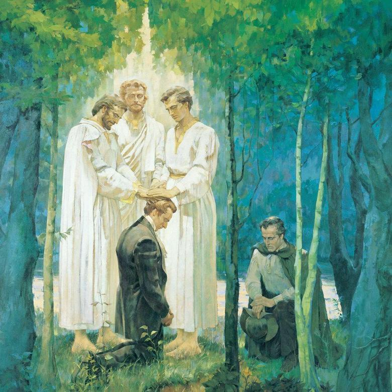 The Restoration of the Melchizedek Priesthood