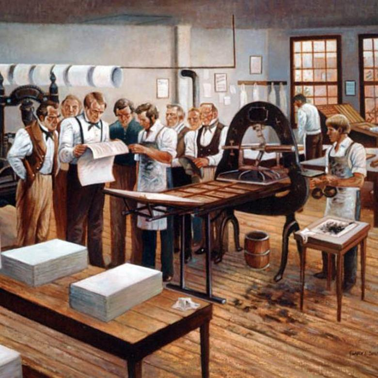 Printing of the First Book of Mormon