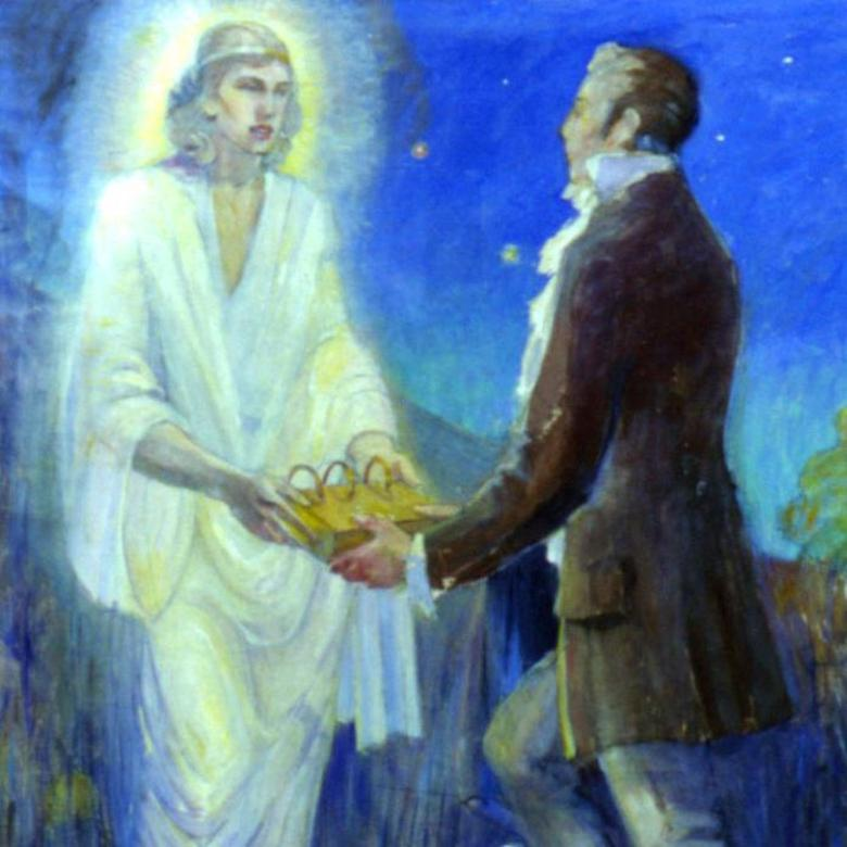 Joseph Smith Receives the Plates